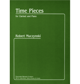 THEODORE PRESSER CO Muczynski - Time Pieces Clarinet and Piano