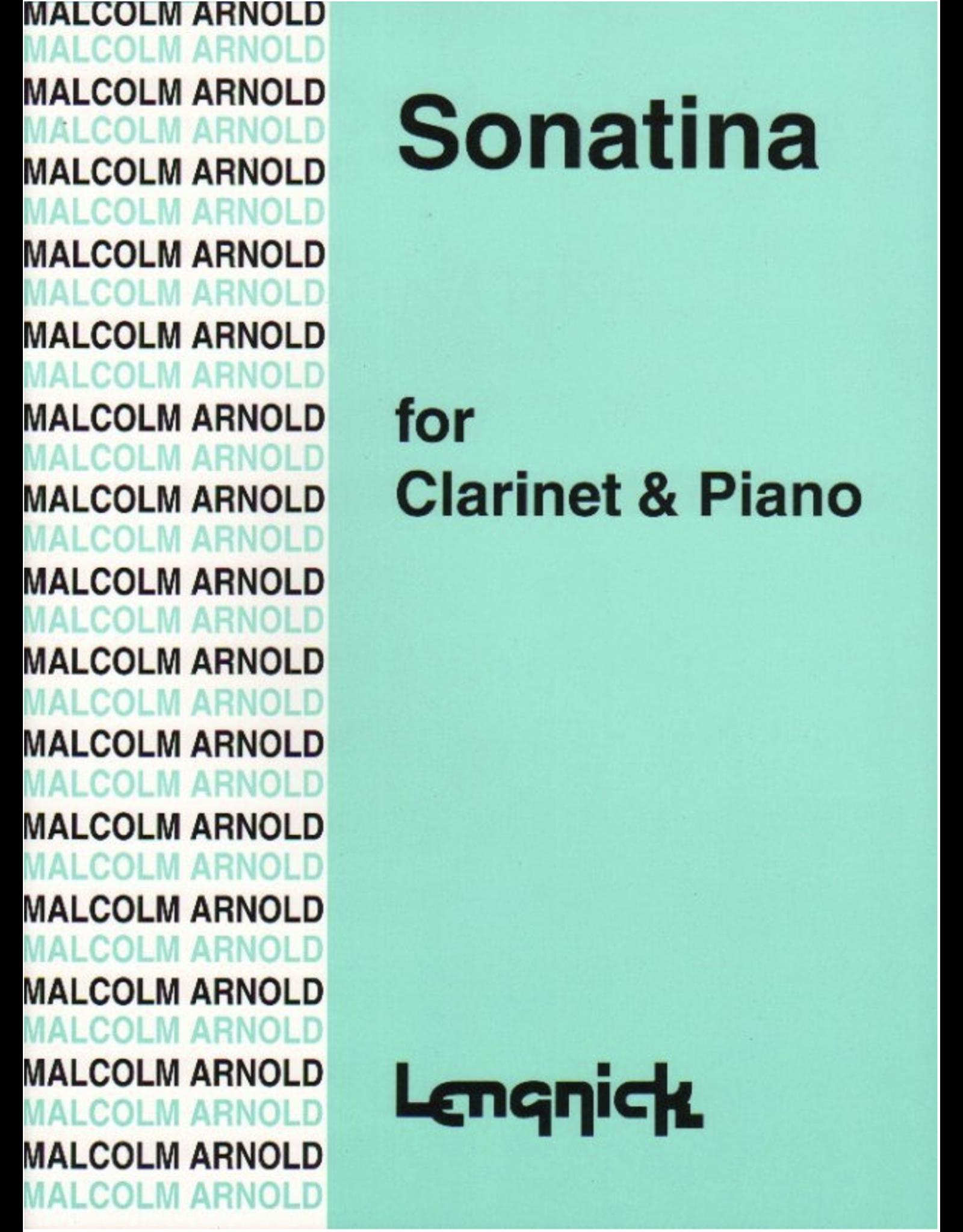Lengnick ARNOLD - SONATINA OP 29 CLARINET/PIANO