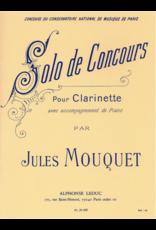 Alphonse Leduc Rabaud - Solo De Concours For Clarinet and Piano Leduc