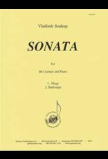 Hal Leonard Soukup - Sonata for Clarinet and Piano
