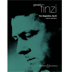 Boosey & Hawkes Finzi Five Bagatelles For Clarinet and Piano