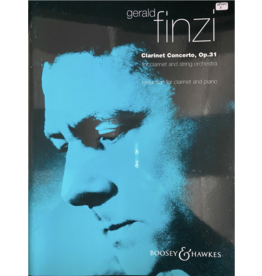 Boosey & Hawkes Finzi Clarinet Concerto, Op. 31 For Clarinet and Piano B&H