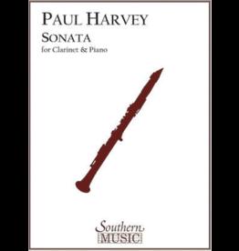 Southern Music Company Harvey Sonata For Clarinet and Piano