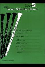 Hal Leonard Concert Solos for Clarinet