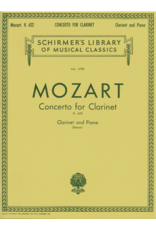 Schirmer Clarinet Concerto in Bb Major, K. 622 arranged by Eric Simon Woodwind Solo