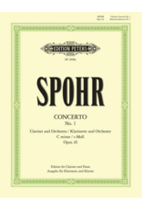 Edition Peters Spohr - Concerto No. 1 in C Minor, Op. 26 (Orch.)