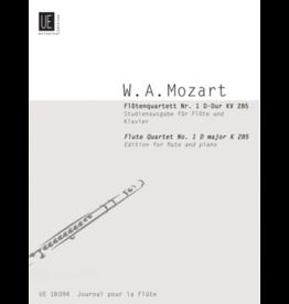 UNIVERSAL EDITION Mozart - Flute Quartet No. 1 In D For Flute