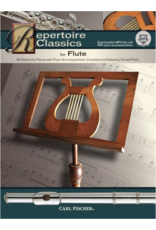 Carl Fischer LLC Repertoire Classics for Flute 36 Repertoire Pieces With Piano Accompaniment. Compiled and Edited By Donal Flute, Piano - Donald Peck
