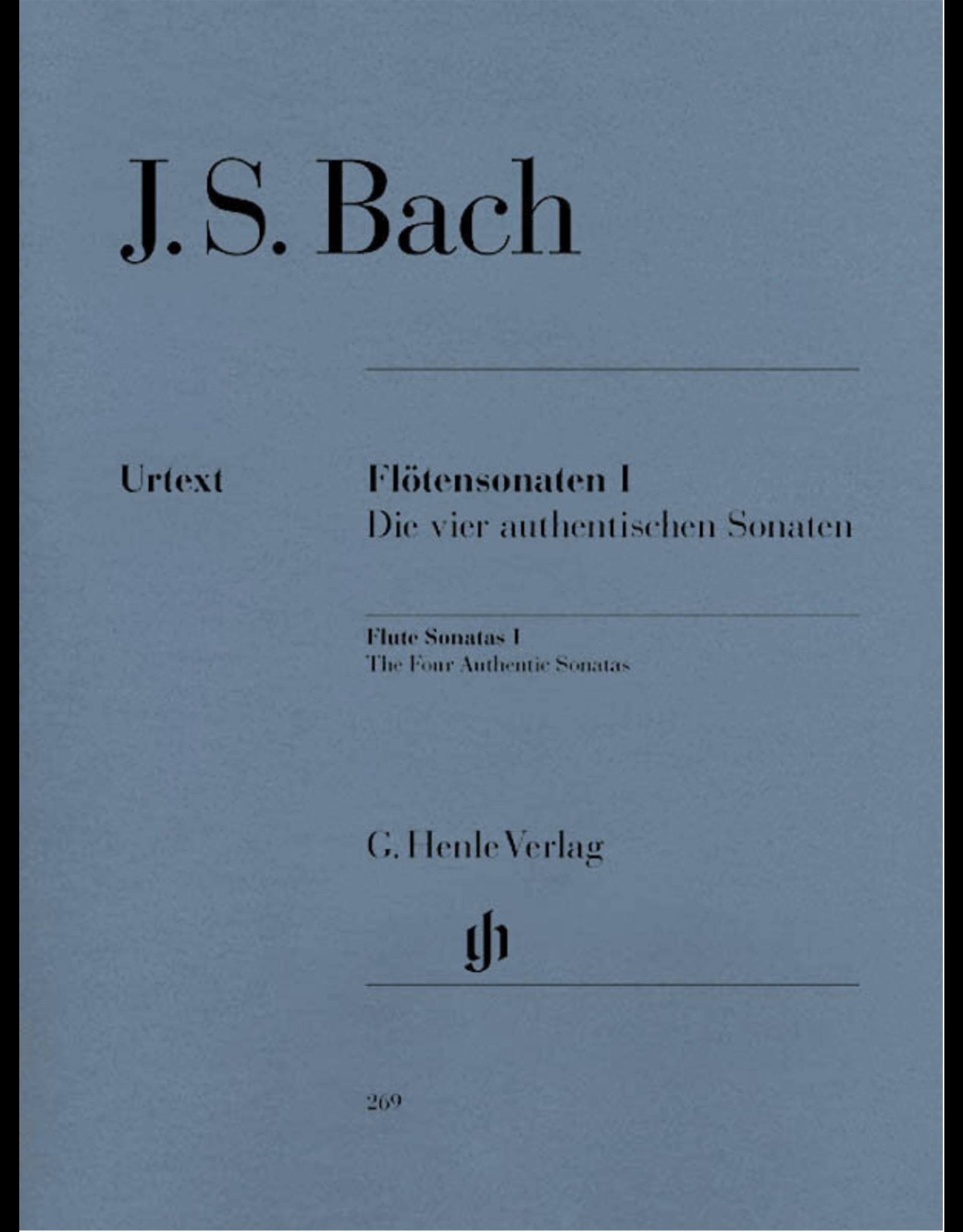 Hal Leonard Flute Sonatas - Volume 1 The Four Authentic Sonatas - with Violoncello Part