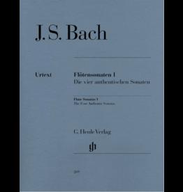 Hal Leonard Bach - Flute Sonatas - Volume 1 The Four Authentic Sonatas - with Violoncello Part