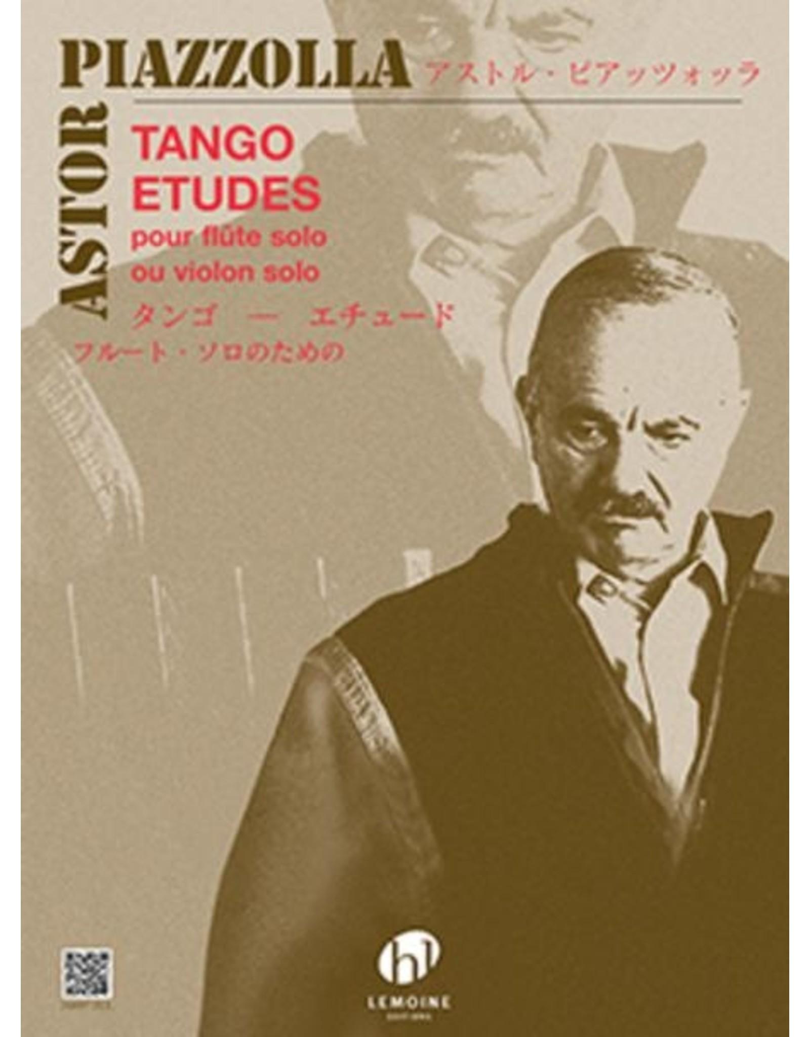Generic Piazzolla Tango Etudes - Flute Solo