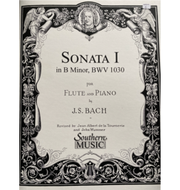 Hal Leonard Bach - Sonata No. 1 in B For Flute