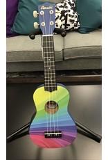 Amahi Double Rainbow Soprano Ukulele