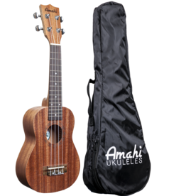 Amahi Amahi UK120W Select Mahogany Soprano Ukulele