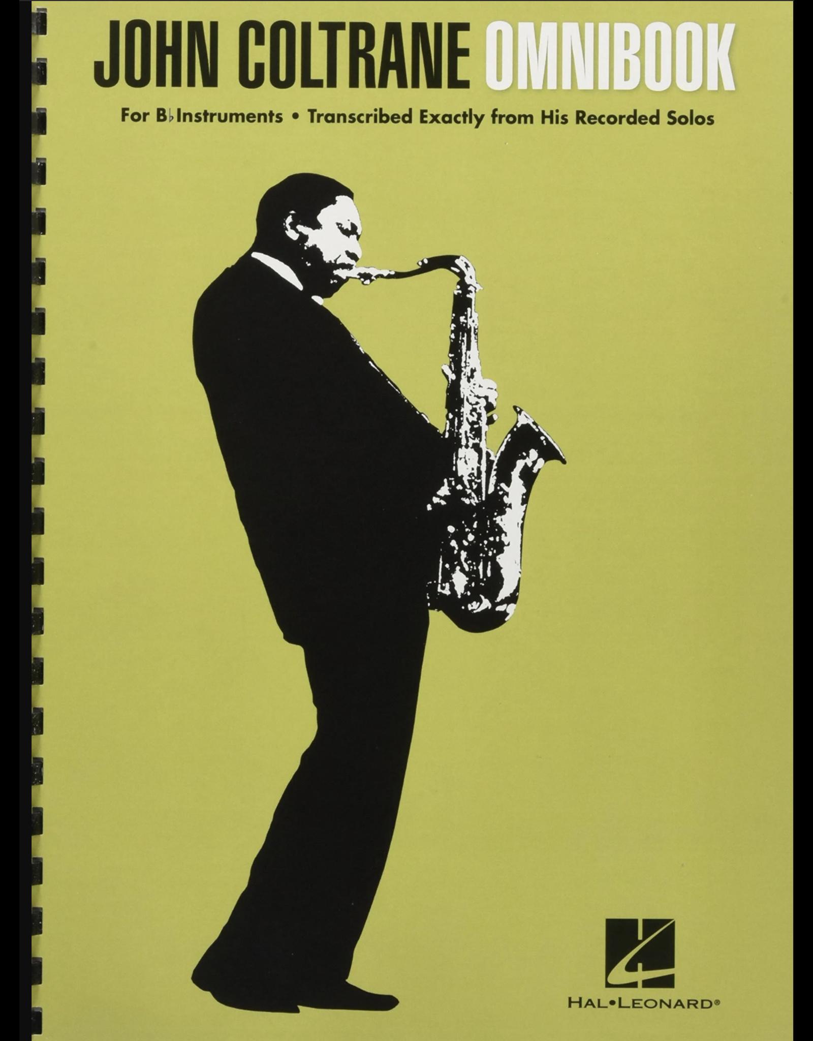 Hal Leonard John Coltrane - Omnibook For B-flat Instruments Jazz Transcriptions
