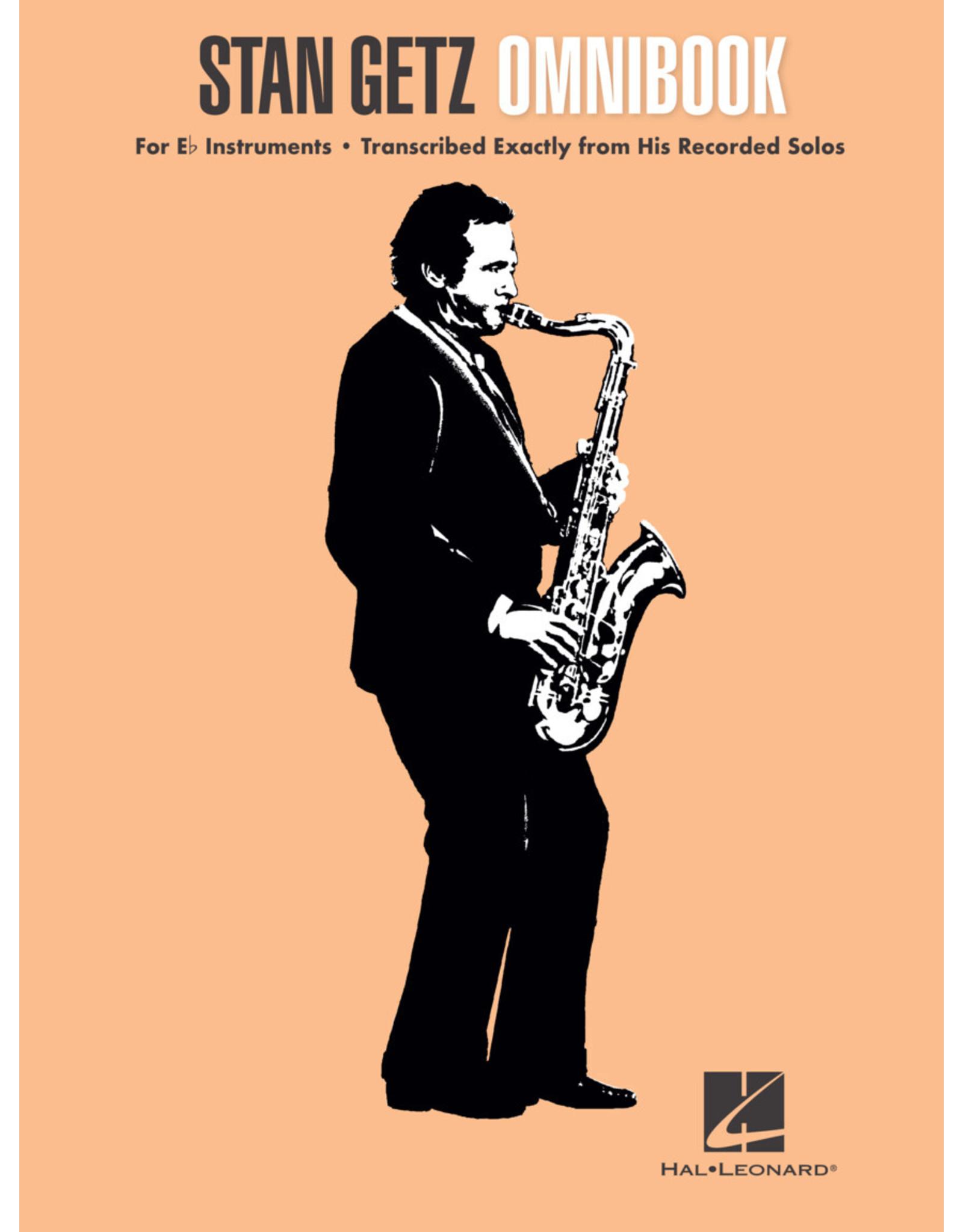 Hal Leonard Stan Getz Omnibook for Eb Instruments