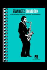 Hal Leonard Stan Getz Omnibook for Bb Instruments