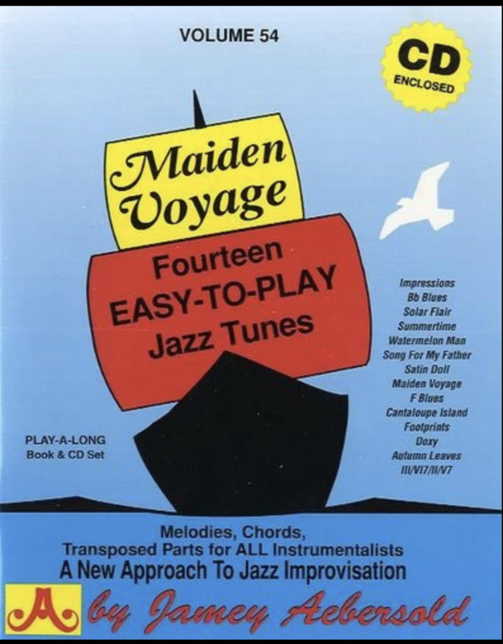 Aebersold Jazz Jamey Aebersold Volume 54 - Maiden Voyage
