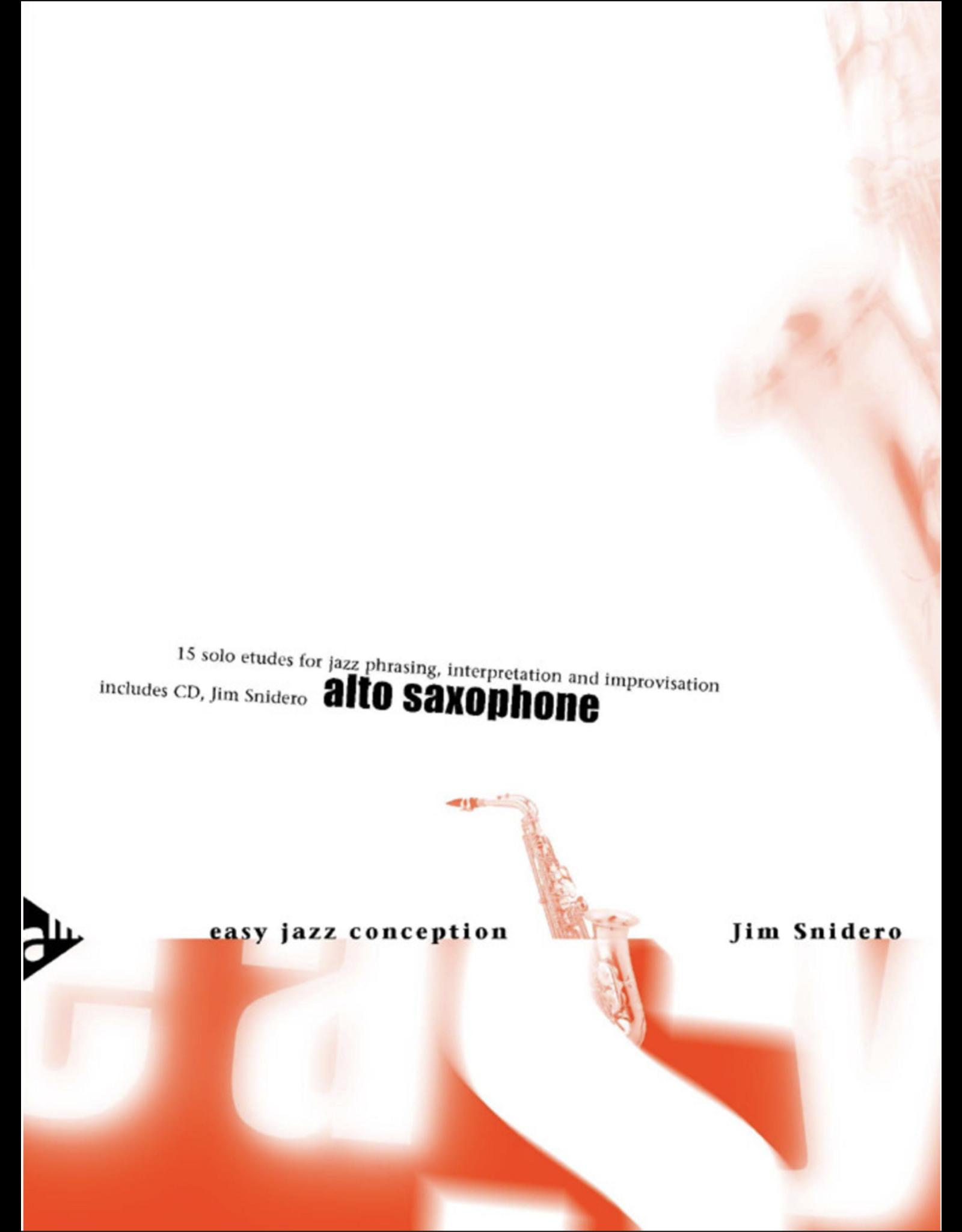 Generic Snidero Easy Jazz Conception - Alto Sax
