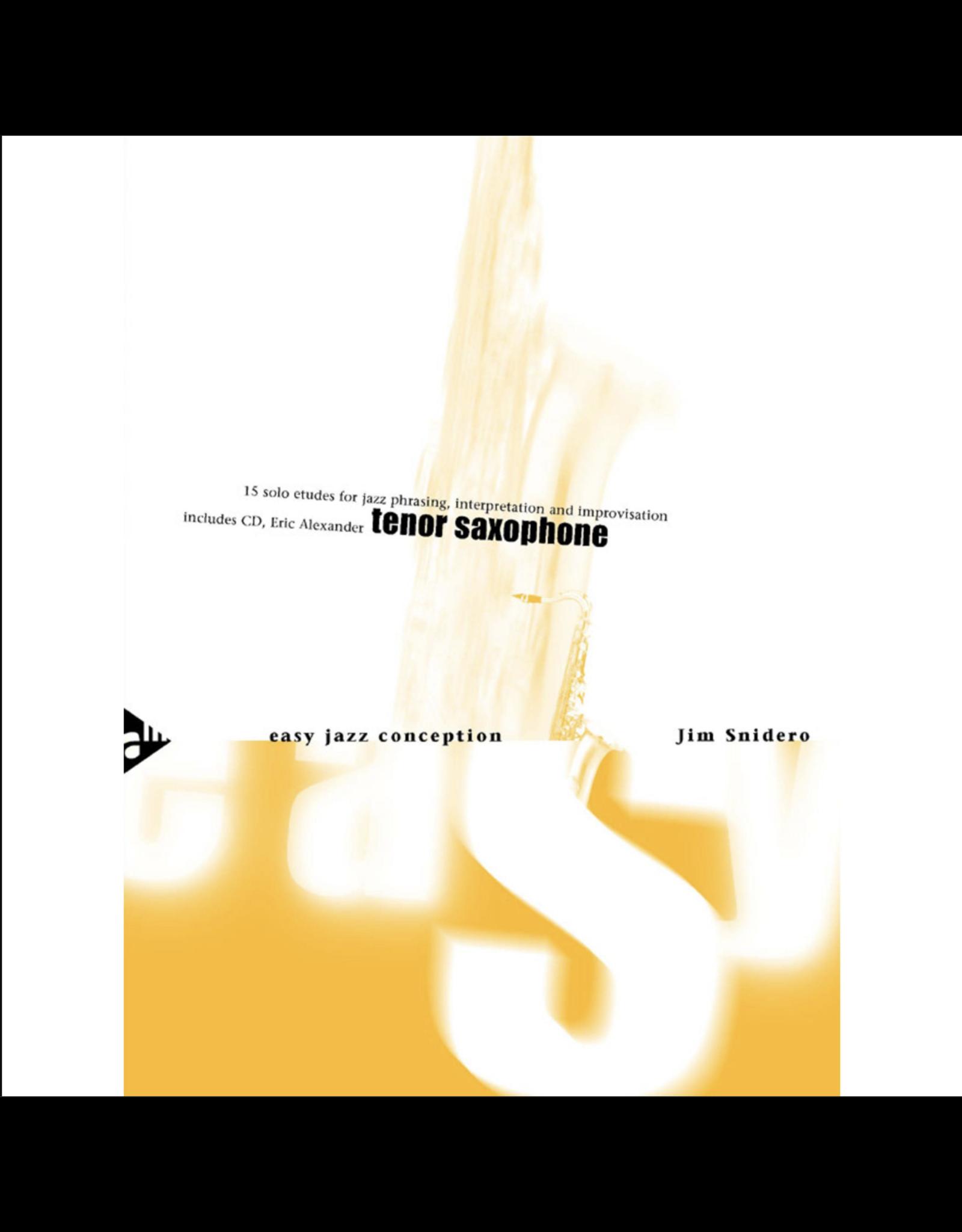 Generic Snidero Easy Jazz Conception - Tenor Sax
