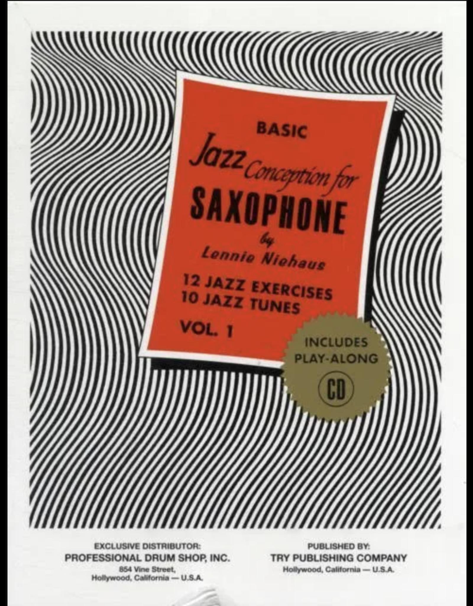 Generic Niehaus Basic Jazz Conception for Saxophone Vol. 1
