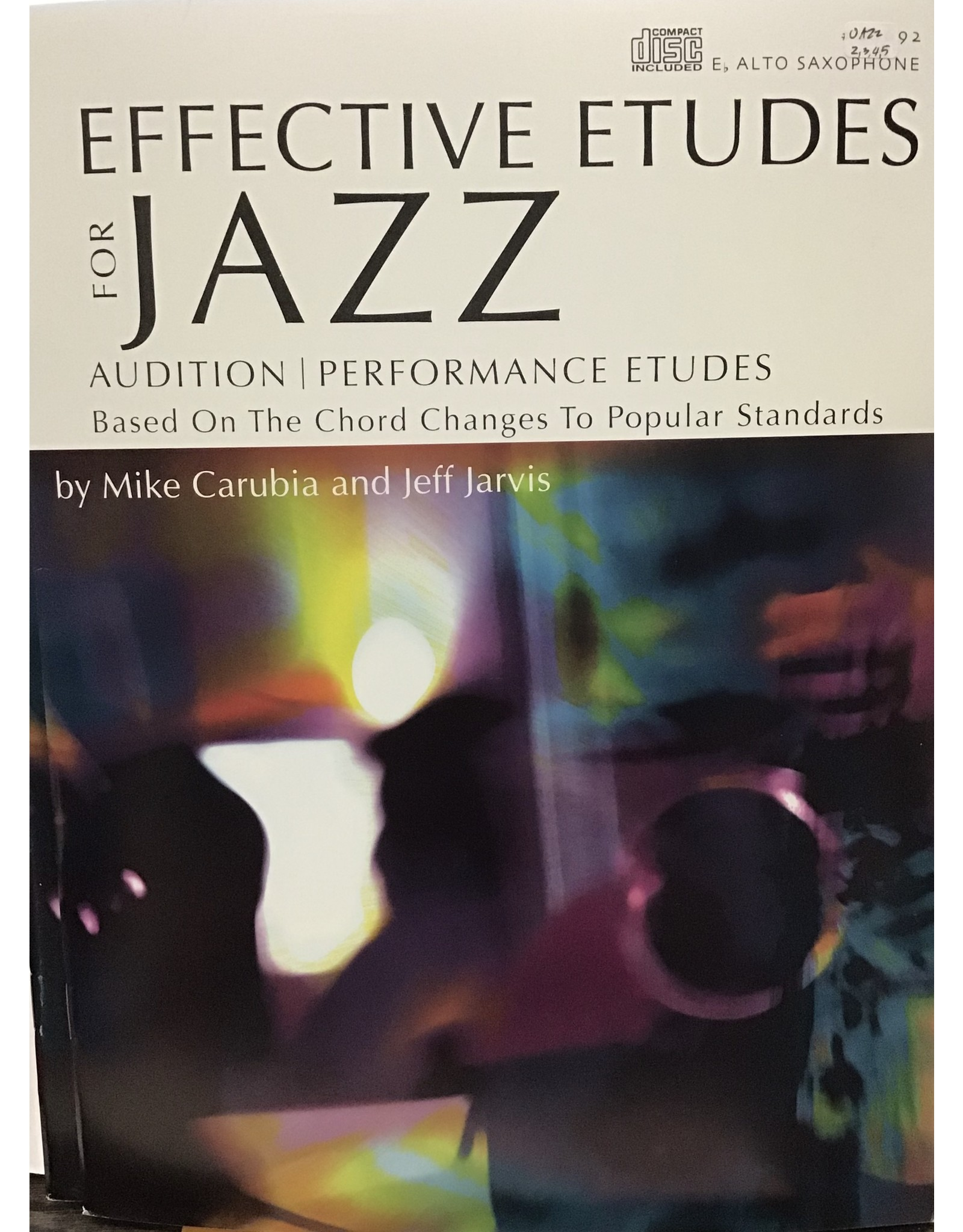 Kendor Carubia/Jarvis - Effective Etudes for Jazz