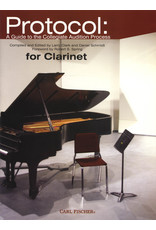 Carl Fischer LLC Protocol: A Guide to the Collegiate Audition Process for Clarinet