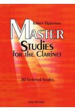 Carl Fischer LLC Opperman Master Studies for the Clarinet