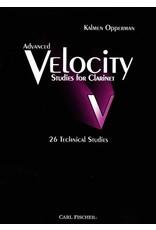 Carl Fischer LLC Opperman Advanced Velocity Studies For Clarinet