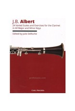 Carl Fischer LLC Albert 24 Varied Scales and Exercises for Clarinet