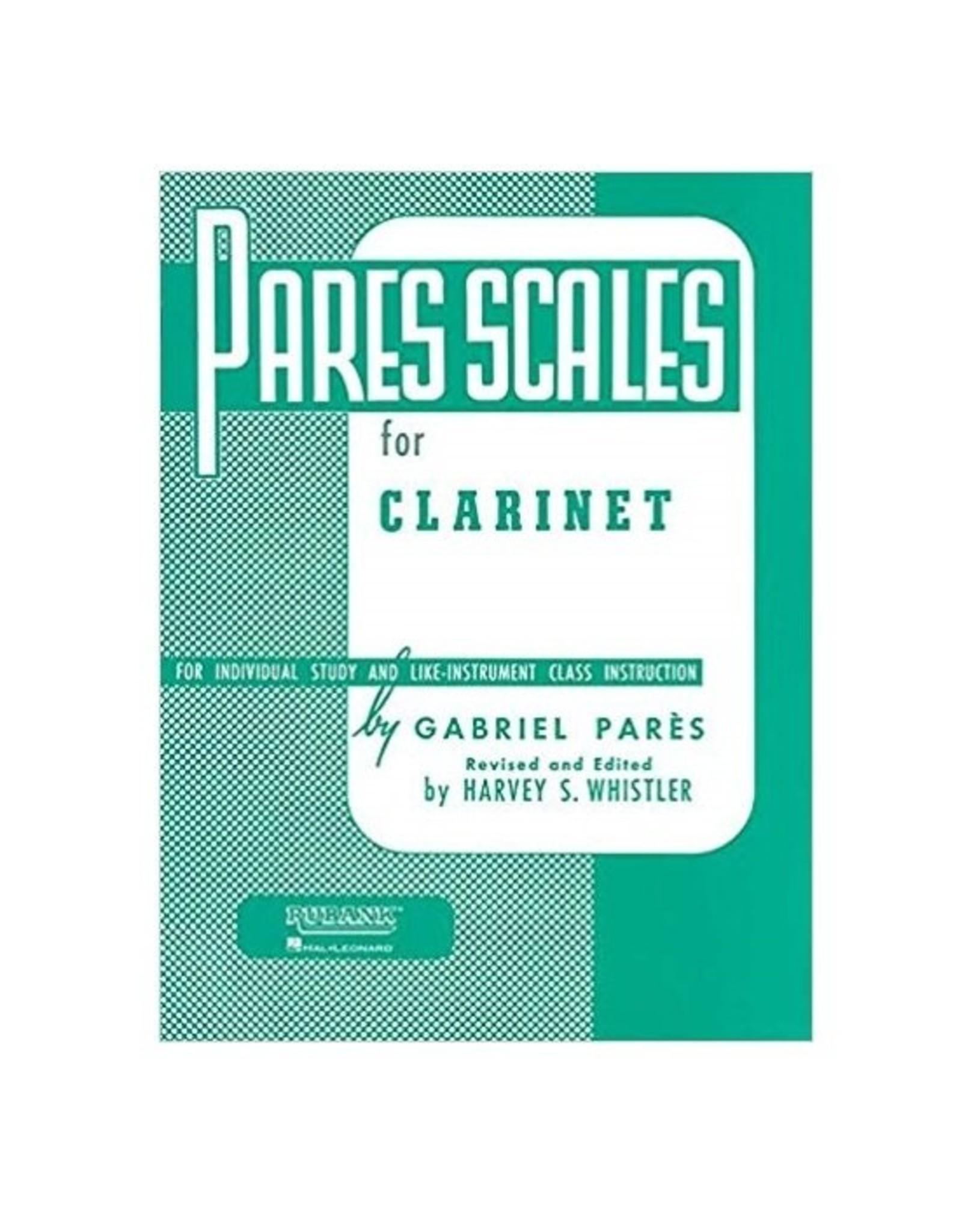 Hal Leonard Pares Scales Clarinet (Pares/rev. Whistler) Woodwind Method