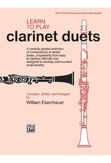 Alfred Learn to Play Clarinet Duets
