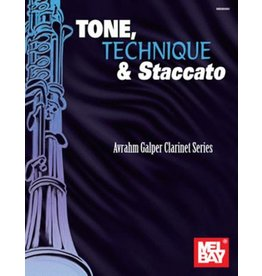 Mel Bay Tone, Technique & Staccato Avrahm Galper Clarinet Series