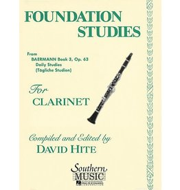 Southern Music Company Foundation Studies For Clarinet