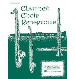 Hal Leonard Clarinet Choir Repertoire Full Score ed. H. Voxman Ensemble Collection