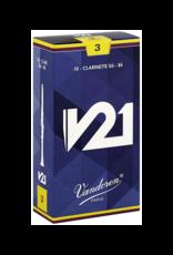 Vandoren Vandoren V21 Bb Clarinet Reeds Box of 10;