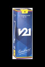 Vandoren Vandoren V21 Bass Clarinet Reed Box of 5;