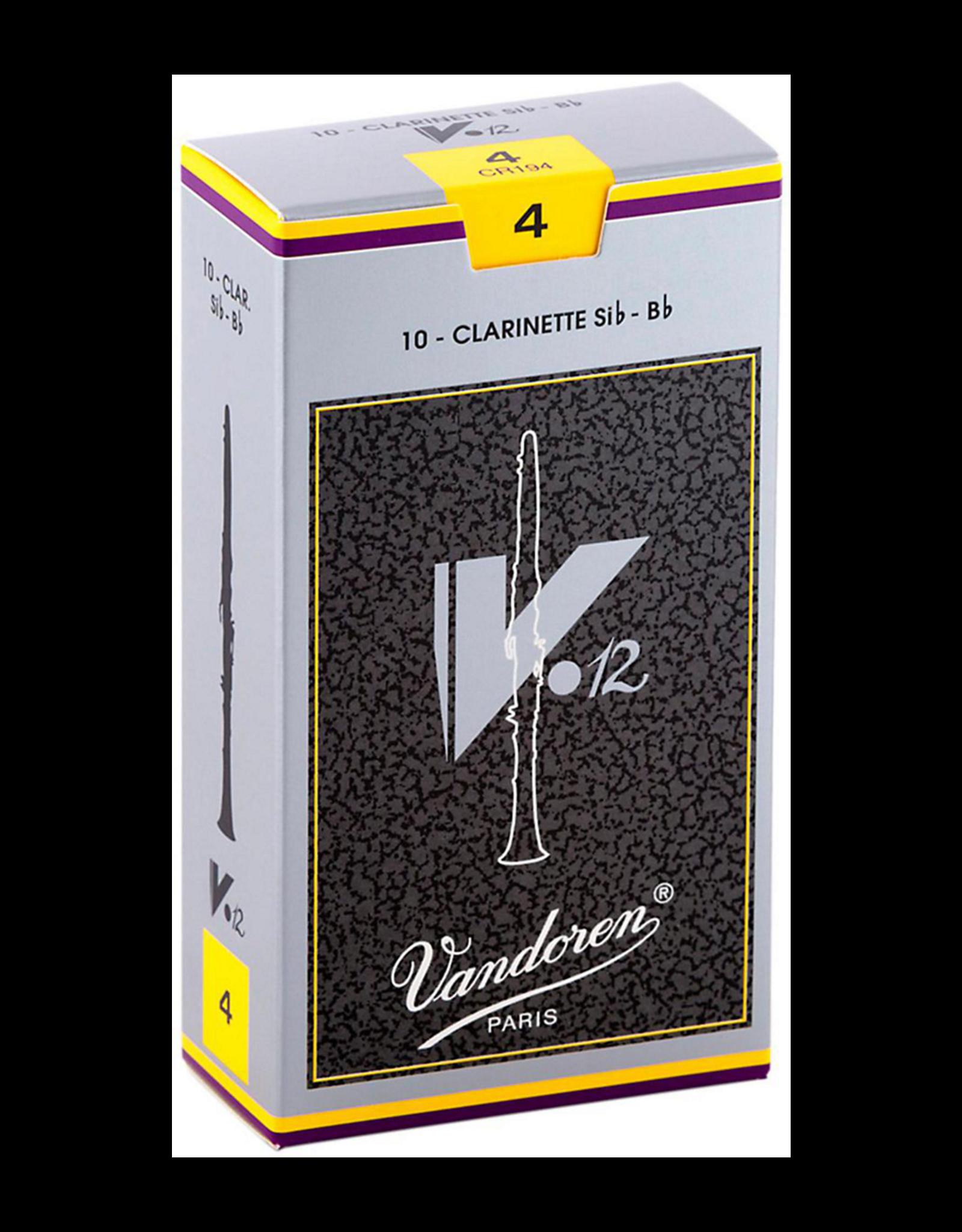 Vandoren Vandoren V.12 Bb Clarinet Reeds Box of 10;