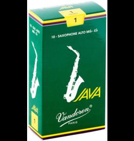 Vandoren Vandoren Java Alto Sax Reeds Box of 10;