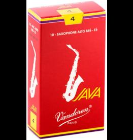 Vandoren Vandoren Alto Sax Java Red Cut Reed Box of 10;