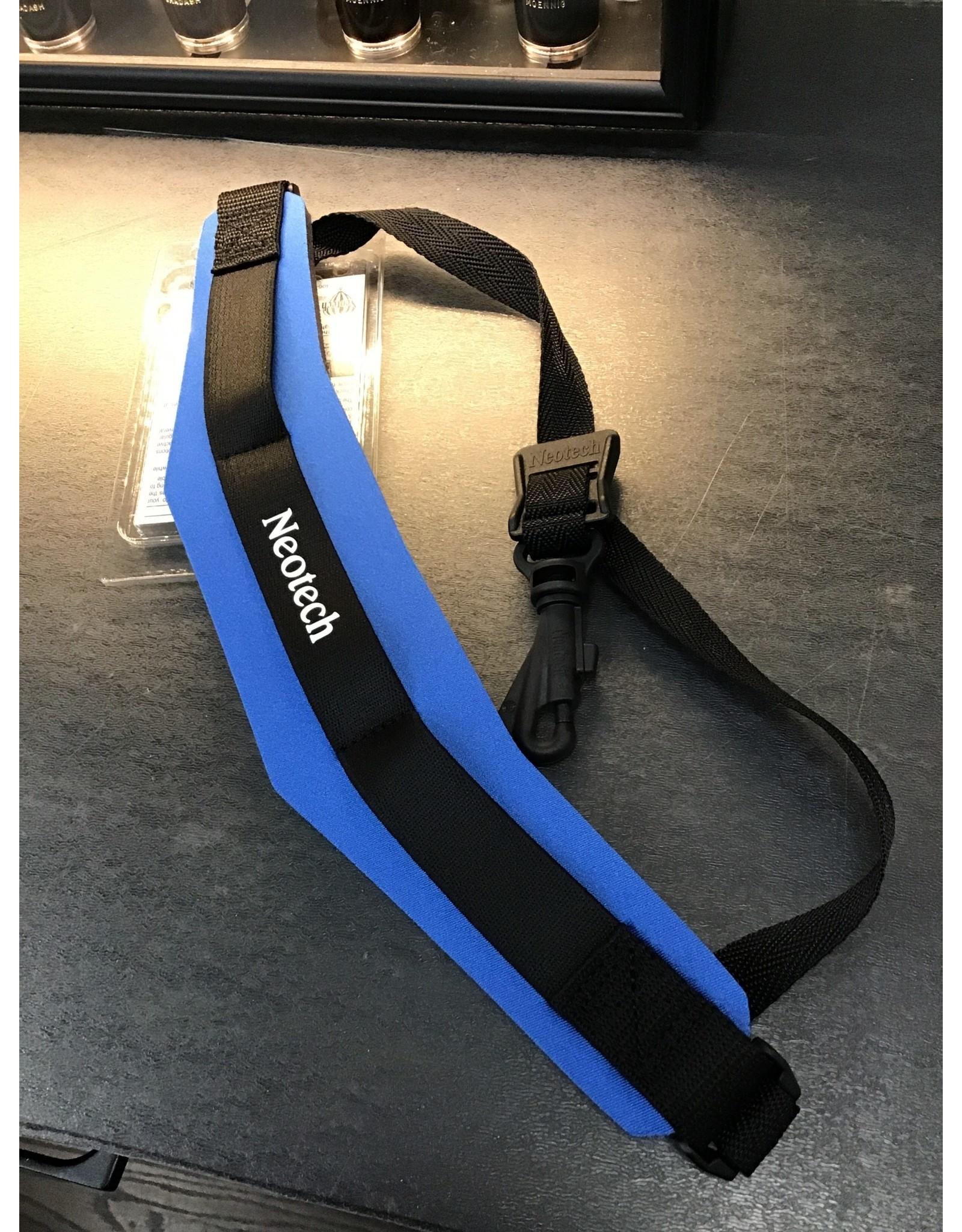 NeoTech Neotec Soft Sax Strap Swivel Hook - Royal Blue