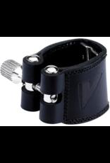 Vandoren Vandoren Leather Ligature & Plastic Cap Tenor Sax Hard Rubber