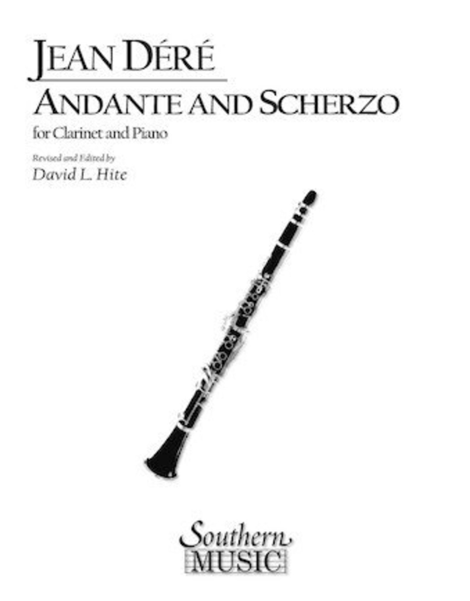 Hal Leonard Andante and Scherzo Clarinet Southern Music