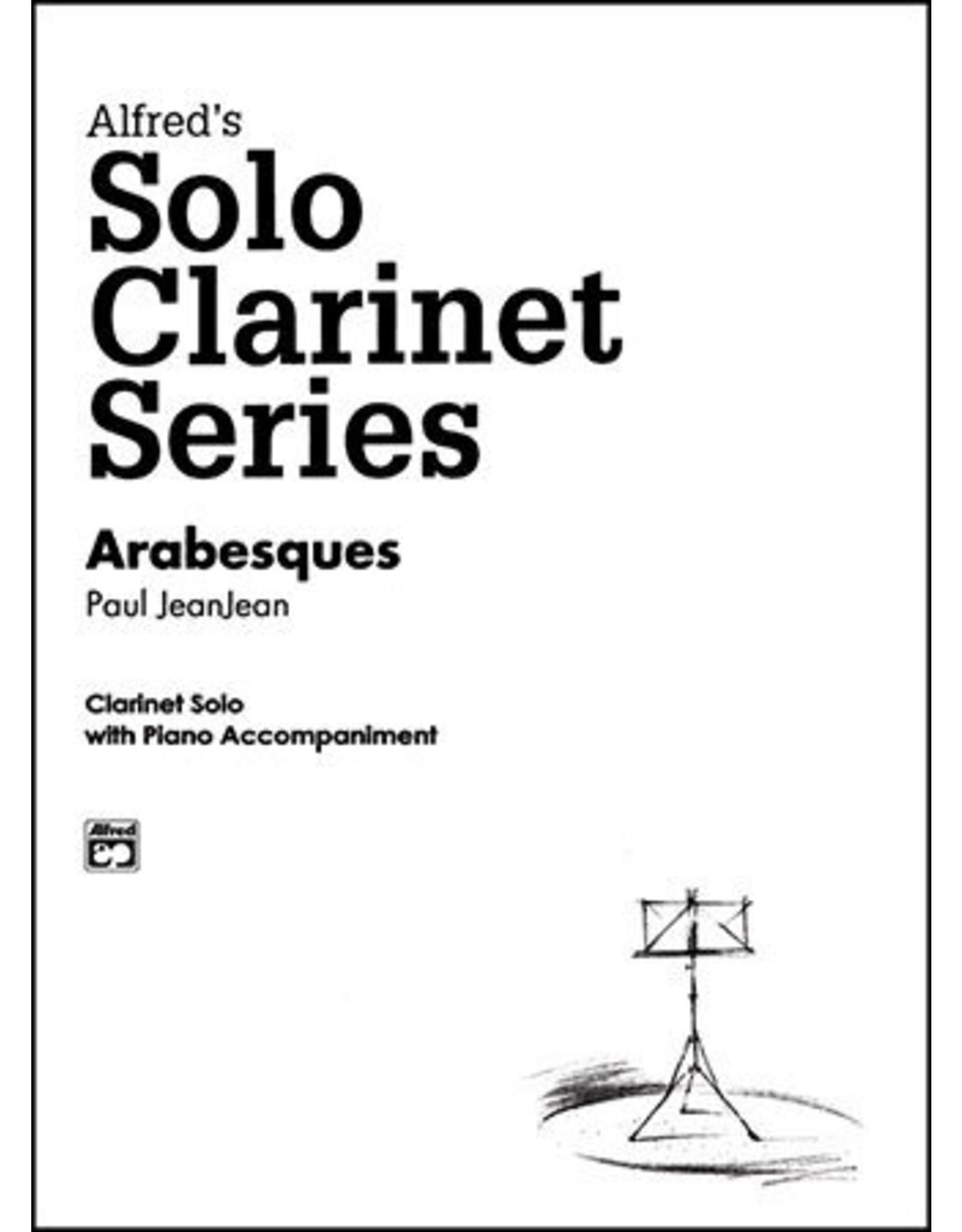 Alfred Jeanjean - Arabesques Clarinet Solo W/ Piano Acc.