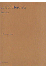 Hal Leonard Horovitz - Sonatina for Clarinet and Piano Music Sales America