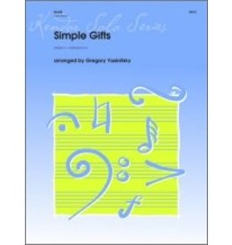 Kendor Simple Gifts Clarinet and Piano Arr. Conley