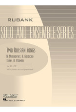 Hal Leonard Miaskovsky Goedicke - Two Russian Songs Flute Solo with Piano