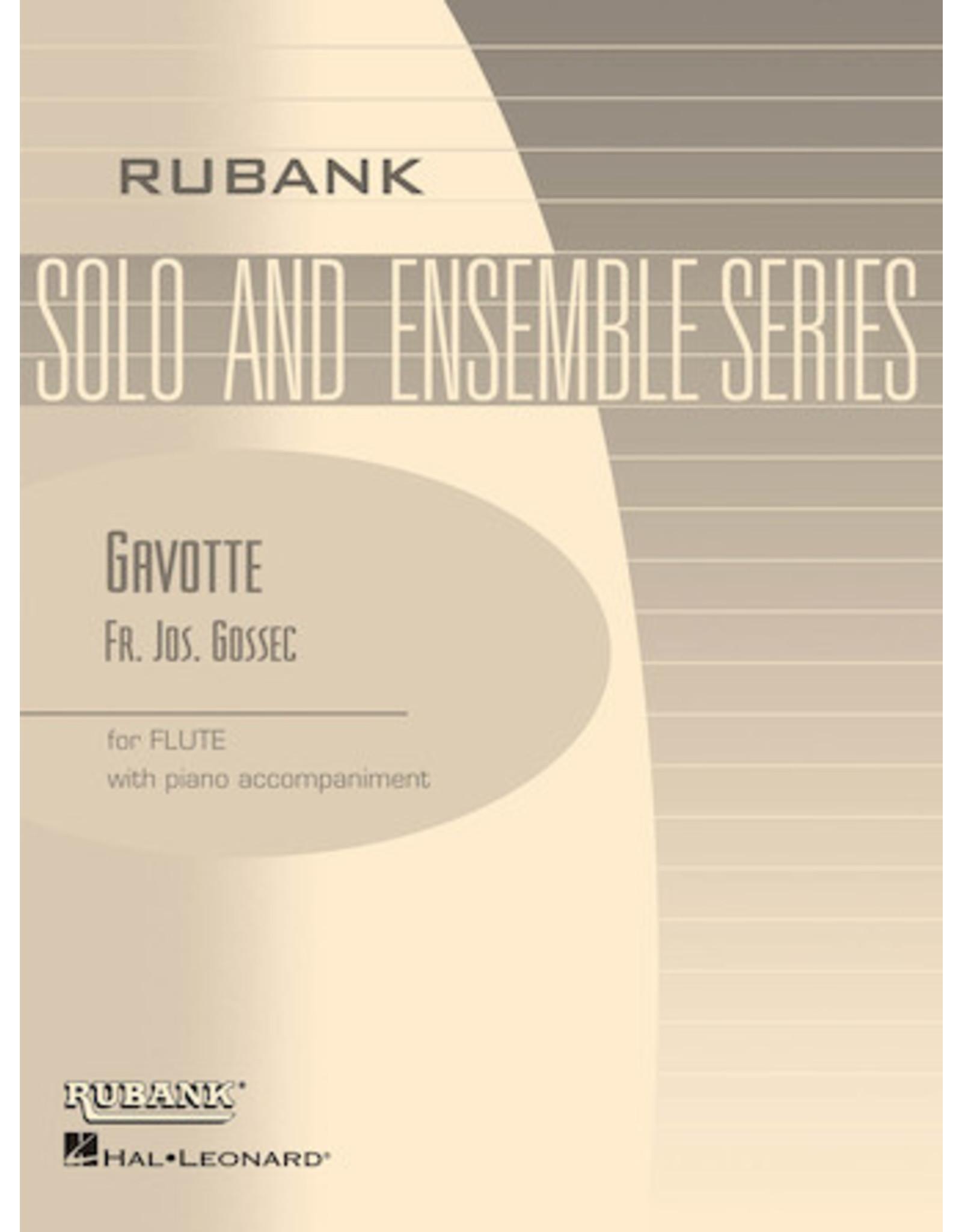 Hal Leonard Gossec - Gavotte Flute Solo with Piano