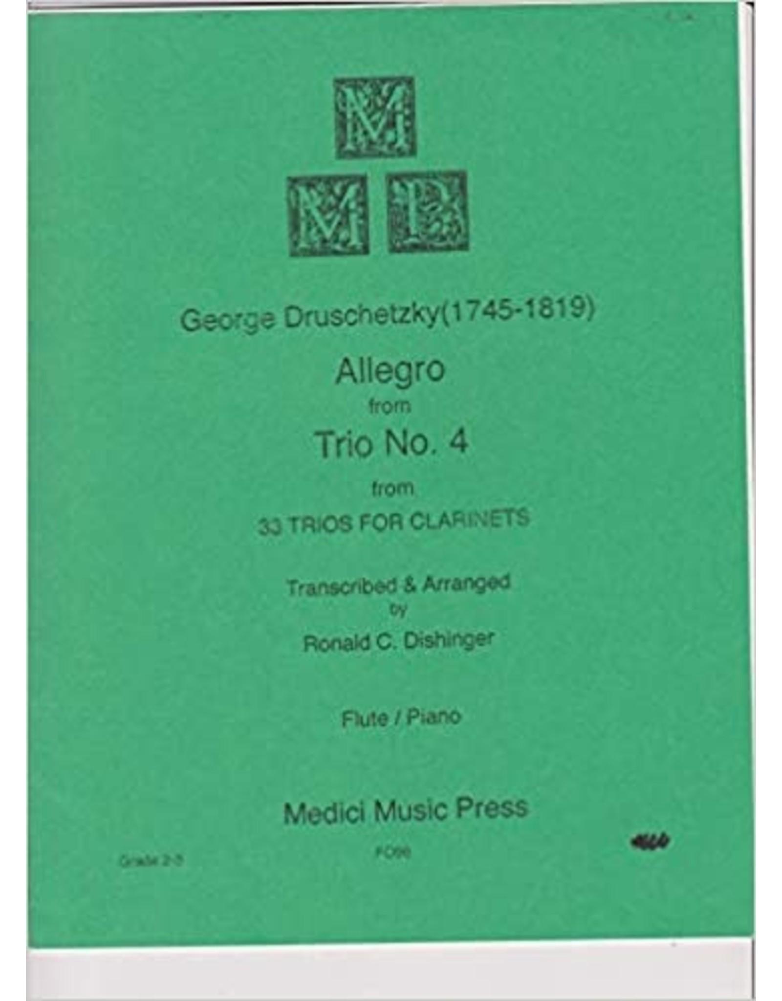 Medici Music Press Druschetzky - Allegro from Trio No.4