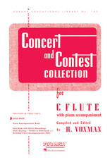 Hal Leonard Concert and Contest Collection - C798408097493 Flute Solo Part Rubank Solo Collection